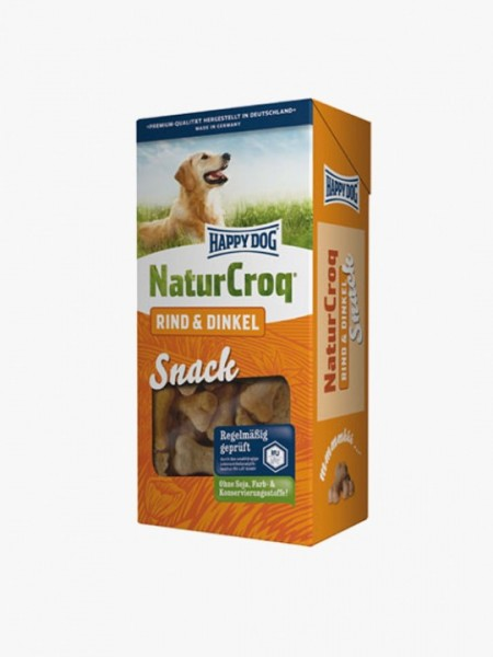 Happy Dog Natur Croq Snack Rund & Speltgraan