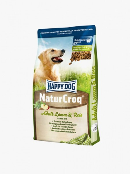 Happy Dog Natur-Croq Lam & Rijst